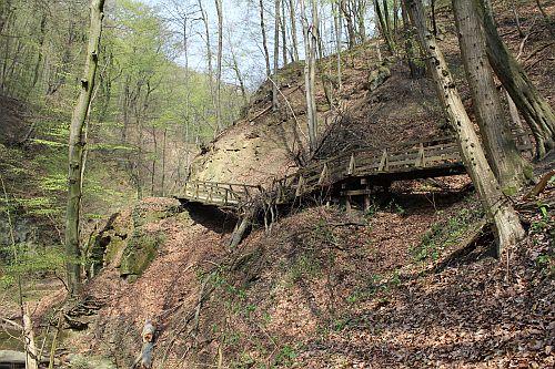 Hagenbachklamm - mit Hindernis