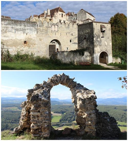 Burg Seebenstein und Türkensturz