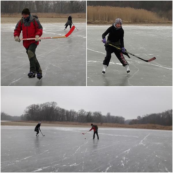 Eislaufen in Schönau
